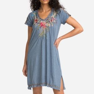 NWT Johnny Was Kaira Draped Tunic Dress. Large